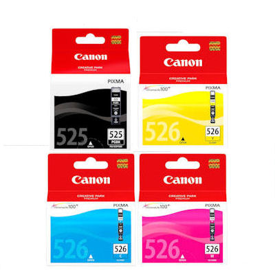 Canon CLI526 Set 3 PGI525 Black For Pixma MG5250 EBay